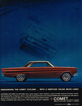Vintage 1964 Magazine Ad for Ford Lincoln Mercury  Motor Company on Comet - $5.93