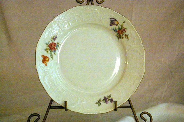 Rosenthal Pink Orange Purple Sanssouci Classic Line Dinner Plate - $9.00