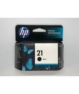 2014 Genuine HP 21 Black Ink Cartridge (C9351AN) Sealed Pkg New Read - $13.86