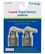 Travel Smart Luggage Padlock ( 2pack ) - Gray  - $7.99