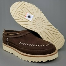 UGG Australia Campfire Nubuck Slip On Loafers Mens Size 8 Suede Leather Brown - $93.49