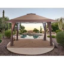 13 Ft. W X 13 Ft. D Steel Pop-Up Canopy - $283.77