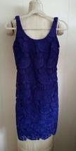 NWT WOMEN LAUREN RALPH LAUREN Lace Sleeveless Hydrangea Dress size 2 $184 - $49.84