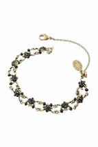 Bracelet en laiton Michal Negrin, cristaux de Swarovski # 100171880010 - $103.76