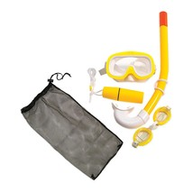 Swim Central Yellow Junior Combo Swimming Pool Snorkel Set - €25,21 EUR