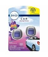 Febreze Car Vent Clip with Gain Moonlight Breeze Scent Air Freshener 2 ct - $10.99