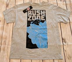 LZ NFL Team Apparel Boy's Lg Carolina Panthers T-Shirt Tee Top T Shirt N... - $9.49
