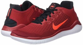 Men's Nike Free RN 2018 Running Shoes, 942836 002 Multi Sizes Gym Red/Cr... - $99.95