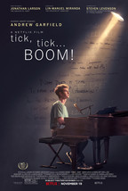 tick, tick...Boom! Movie Poster Andrew Garfield Movie Art Film Print 24x... - $10.90+