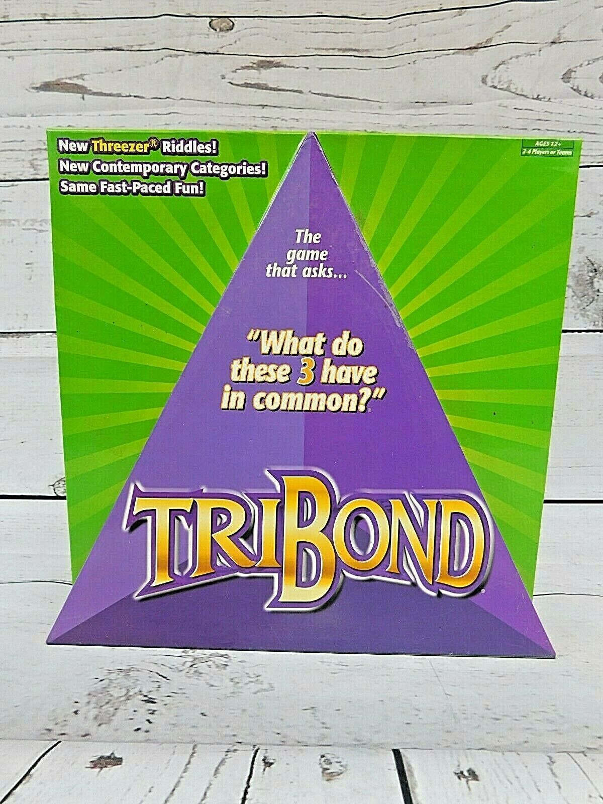 Primary image for Tribond Board Game 2005 Complete Mattel Games G6848 Great Condition
