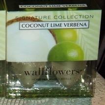Bath & Body Works Slatkin & Co. COCONUT LIME VERBENA Wallflowers Home Fr... - $70.00