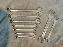 Vintage Craftsman Assorted SAE Combination Wrench Lot - V, VV Series  - $39.99