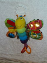LOT 2 LAMAZE BABY BUG INSECT CLIP N GO PLAY ACTIVITY TOYS RING LINK FIREFLY - $15.98