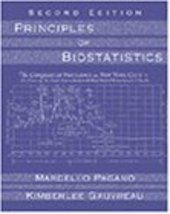Principles of Biostatistics (with CD-ROM) Pagano, Marcello and Gauvreau,... - $9.66