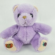 "Jelly Belly Purple Bear 7"" Plush Grape Stuffed Animal Hermen Goelitz Enesco - $21.77"