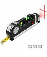 Multipurpose Laser Level Vertical Horizon Measuring Tape Aligner Metric ... - $7.99