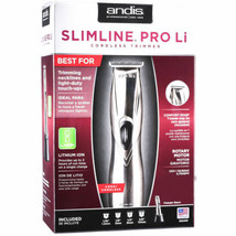 Andis Slimline Pro Li Cordless Lightweight Trimmer CL-32400 (Model D-8) ... - $75.23
