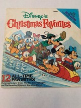 Vintage Disney's Christmas Favorites Read Along Book And Cassette Book Only - $14.84
