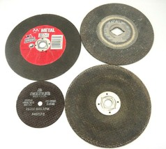 """Abrasive Saw Blade Lot of 4 7-7.25"""" Vermont American 28077 4"""" Master - $14.10"""