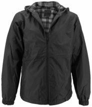 Men's Water Resistant Polar Fleece Lined Hooded Windbreaker Rain Jacket image 14