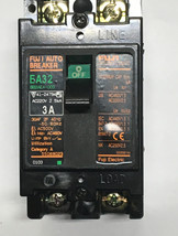 Fuji Electric Auto Breaker, EA32, 3A, 220V, 2 Pole - $15.96