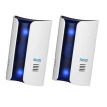 CXCASE 2 Pack Ultrasonic Pest Repeller Control 2018, Plug in Home Indoor... - $20.31