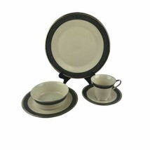 Lenox Fine China Moonlight Mood Five Piece Place Setting Ivory Made in USA - $42.03