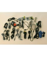 Electrical Mixed Lot Computer Cables Connectors Cords SCSI Mouse Memory - $21.99