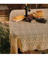 Thread Crochet Edgings Tablecloth Pineapple Doily Place Mat Ornaments PA... - $12.99