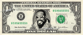 BARRY WHITE on a REAL Dollar Bill Cash Money Collectible Memorabilia Celebrity - $8.88