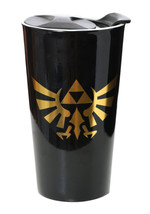 Nintendo Legend of Zelda Hyrule Triforce and Name Logo 12 oz Ceramic Tra... - $14.50