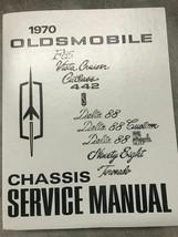 1970 Oldsmobile F85 CUTLASS 442 VISTA DELTA TORNADO 88 98 Service Shop M... - $32.62