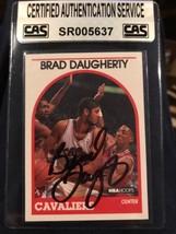 1989-90 Hoops Cleveland Cavaliers Basketball Card #50 Brad Daugherty COA - $7.95