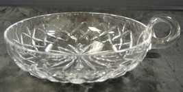 Crystal Oversized Nappy Serving Bowl * Lismore Pattern - $31.91