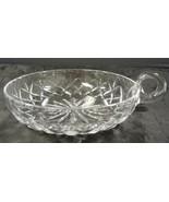 Crystal Oversized Nappy Serving Bowl * Lismore Pattern - $31.91