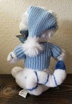 "TIGGER Disney Store Winnie the Pooh  White Plush Blue Sweater Christmas 13"" image 4"