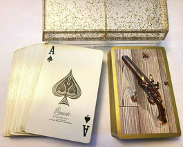 Dueling Pistols by Stancraft Double Deck Playing Cards St Paul Minn image 3