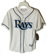 Majestic Athlétique Jeunesse Tampa Baie Rayons Evan Longoria Cool Base J... - $29.69