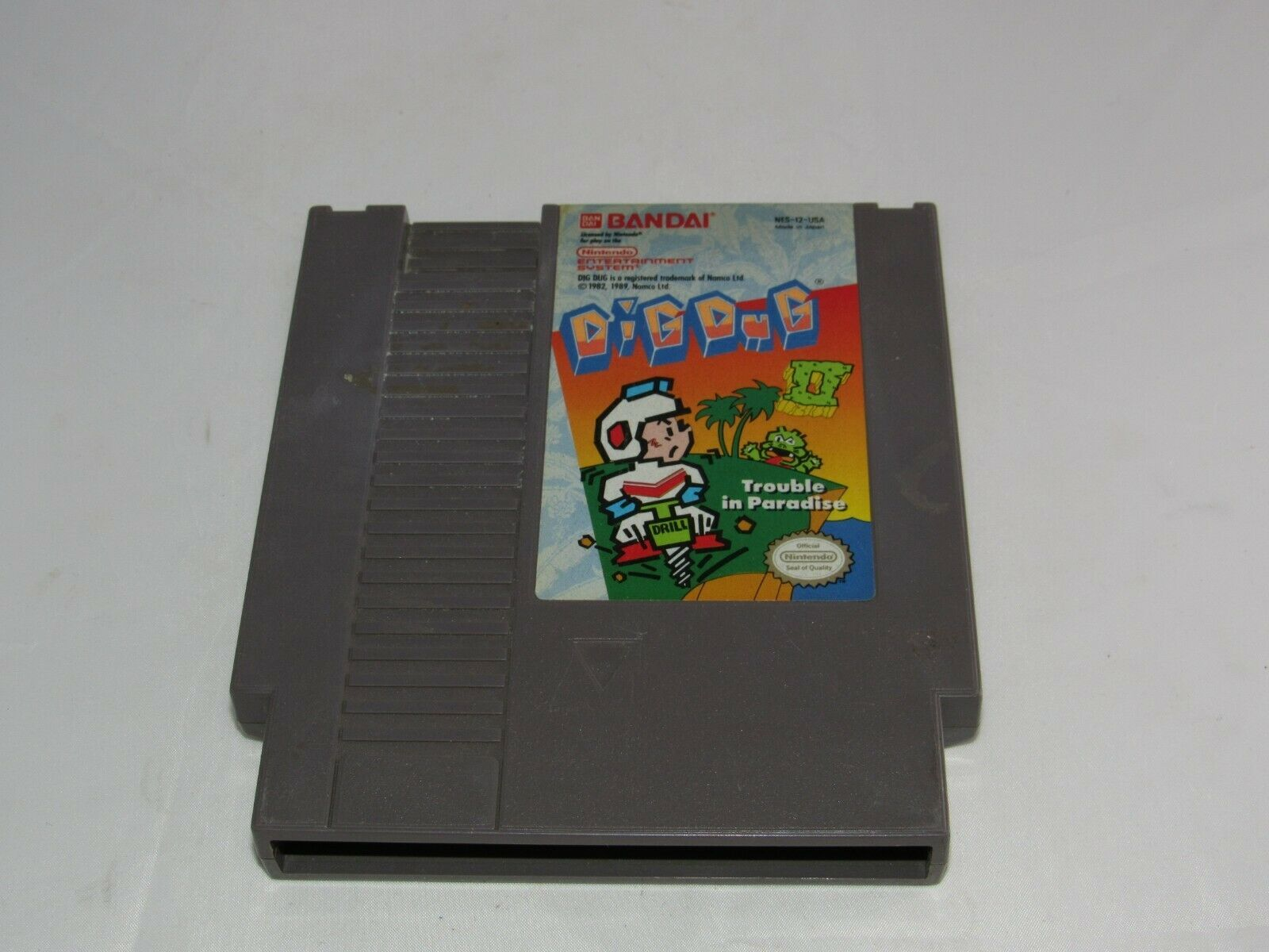 Dig Dug II: Trouble in Paradise (Nintendo Entertainment System, 1989)