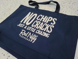 """Navy RNV Shopping Tote Bag """"No Chips/Cracks"""" image 3"""
