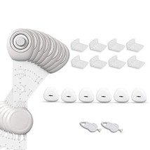 Baby Proofing Kit, Baby Safety Protector 24 Pcs - 8 Cabinet Locks - $45.00