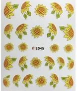 Nail Art 3D Decal Stickers Sunflowers - $6.44
