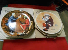 """TWO Great Collector Plates-BRADFORD EXCHANGE """"Santa in Subway"""" & """"The Pr... - $13.93"""