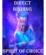 HAUNTED CUSTOM DIRECT BINDING OF SPIRIT OF CHOICE MAGICK 98 yr ALBINA CA... - $150.00