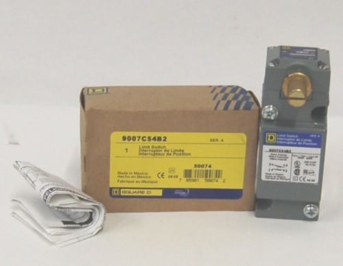 Schneider Electric Square D 9007C54B2 Limit Switch 1NO 1 NC
