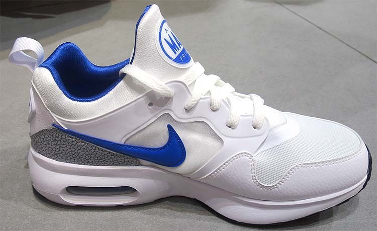 Air Max Backround Blanc / Gris / Noir / Bleu