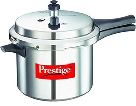 Prestige Popular Pressure Cooker, 5 L, Silver - $98.99