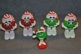 M&M's Lot of 5 Christmas Figures - $15.00