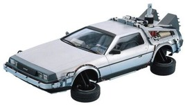 Movie Mecha series No.9 Back To The Future DeLorean PartII 1/24kit NEW J... - $46.83