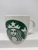 2017 Starbucks Mermaid Lady Green Logo Ceramic Coffee Tea Mug Cup 14 Oz - $9.89